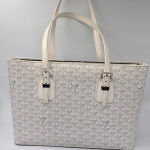 Authentic Goyard Okinawa PM white